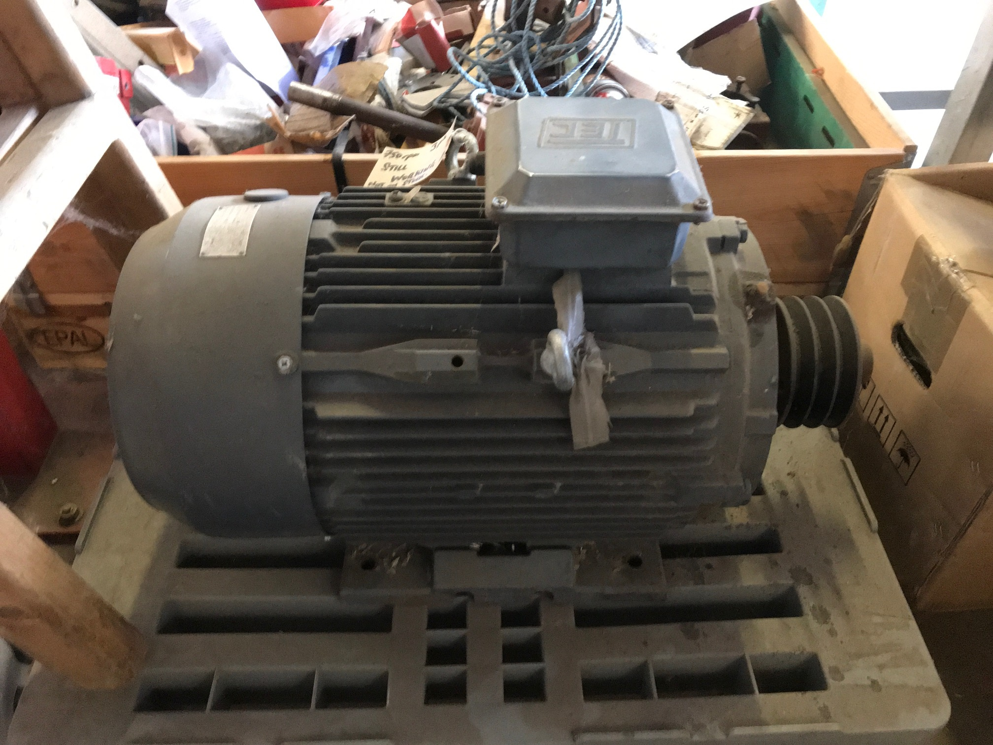 Tec Electric Motor 7.5Kw 750rpm