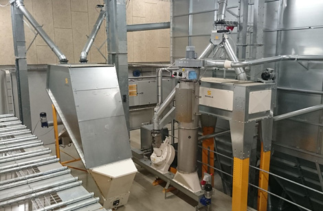 SKIOLD cleaner in a milling system