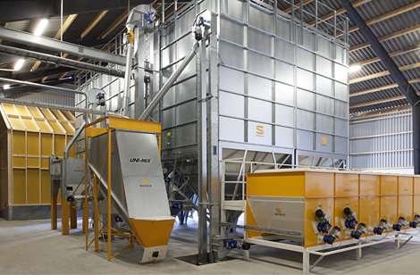 Milling plant with Unimix