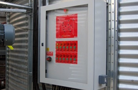 Outdoor panel casing
