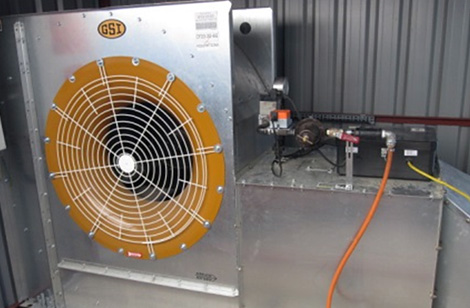 GSI 18.5kw fan & modulating heater