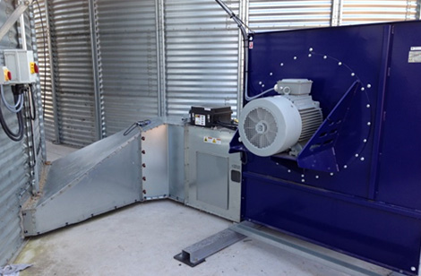 37kw HL fan, heater and double duct