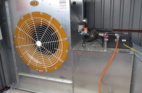 25hp fan & heater - Bedfordshire
