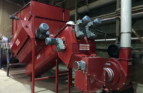 Twin auger systems for straw