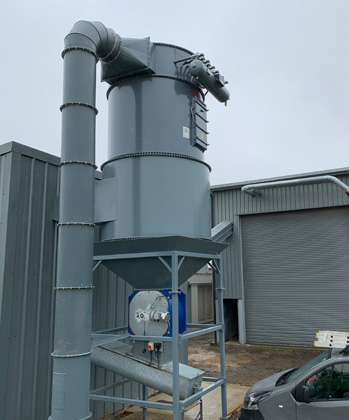 hampshire hammer mill installation