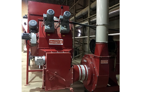 Cormall HDH-770 hammer mill and stone trap