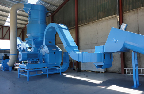 Cormall LSM 400kW hammer mill – customer colours